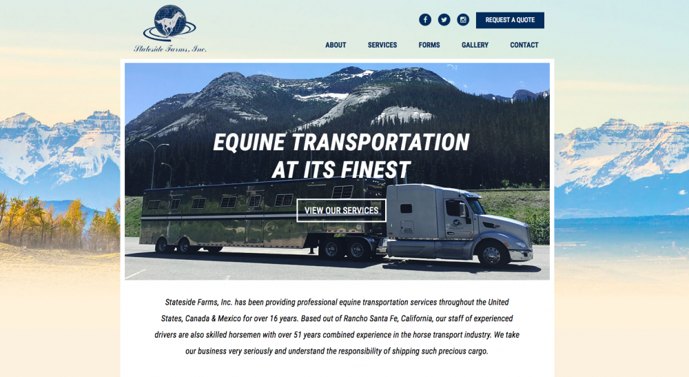 Stateside Farms, Inc. - Web Design, Website Build