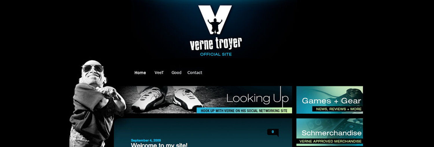 Official Website Launch for Verne TroyersWeb Design | Learn More >