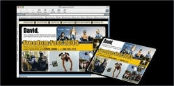 US Army Multimedia (web & print) event lead generating platform, Variable print & production management