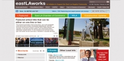 East La works Comprehensive Identity, Promotional Marketing, P/R and Outreach
