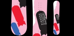 Wolfgang Amadeus Phoenix Snowboard KROQ Promotional snowboard