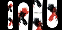 Kings of Leon Promo Snowboard Design, Creative, Artist promotions
