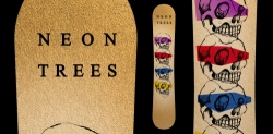 Neon Trees KROQ Promotional snowboard