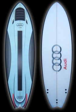 Audi- Surfboard -Design, Creative, New Product Development