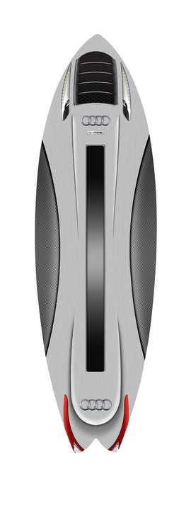 Audi- Surfboard -Design, Creative, New Product Development