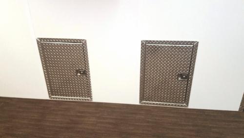 Under Compartment Storage Doors