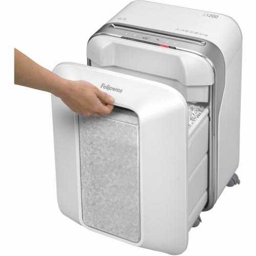 Fellowes Powershred® LX200 Micro-Cut Shredder (White)