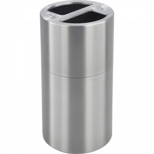 Safco Dual Recycling Receptacle