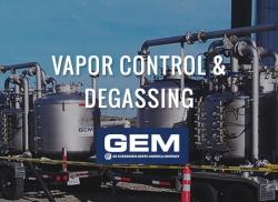 Vapor Control Degassing
