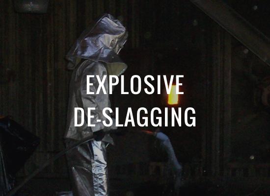 Explosive De-Slagging