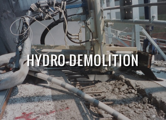 Hydro-Demolition