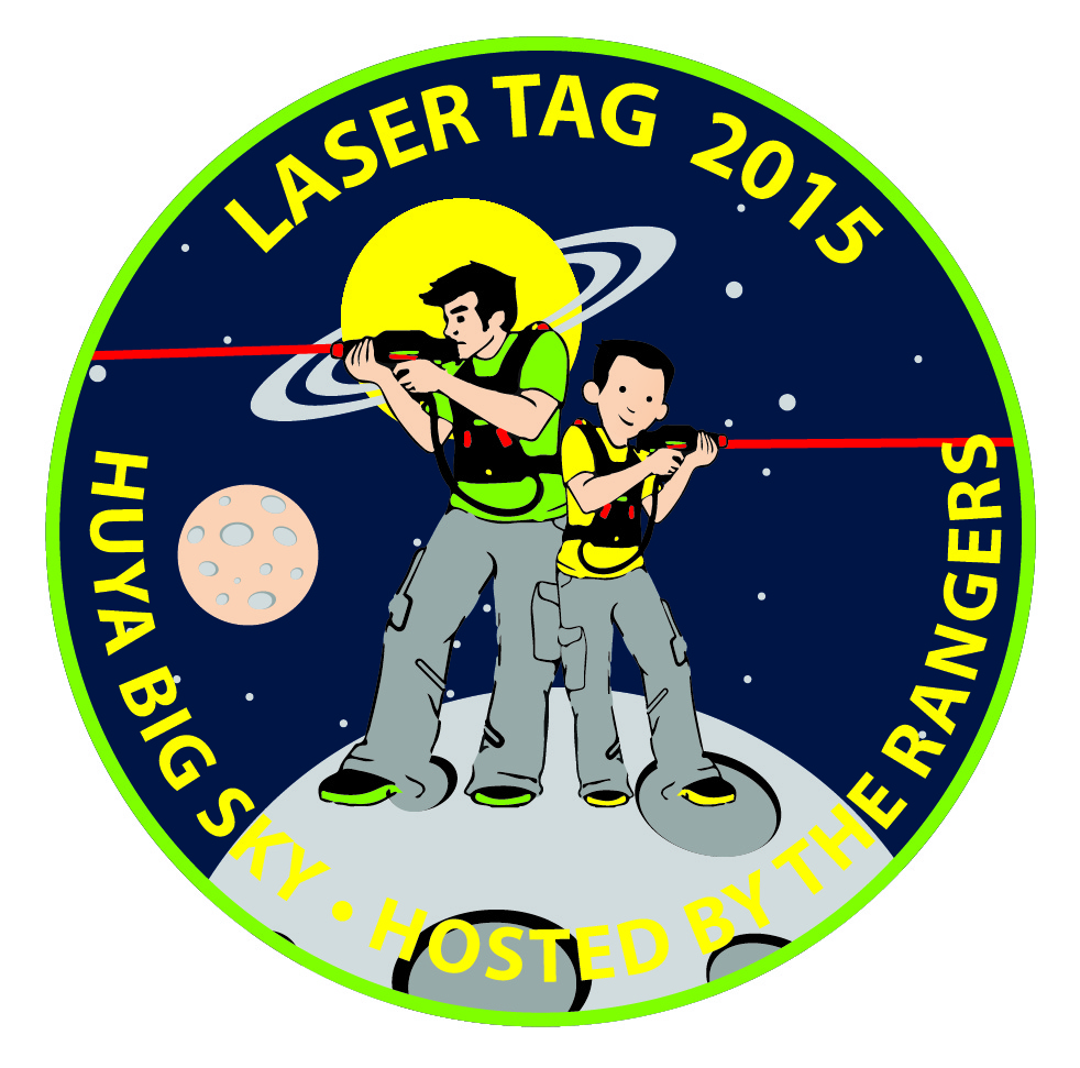 Parade Of Lasers 2015: Laser Tag Event Flyer