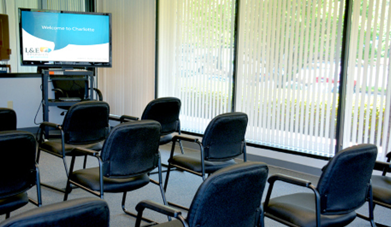 Racing conference room set-up 2