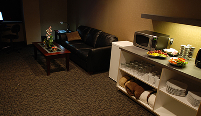 Boundary Waters Client Lounge