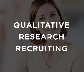 Qualitative Research Recruiting