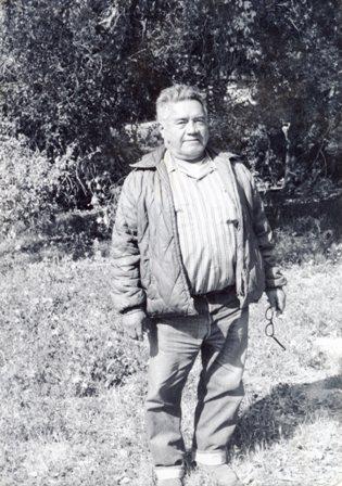Pedro Pete LaChappa ' Photo taken 1969 on San Pasqual Reservation'