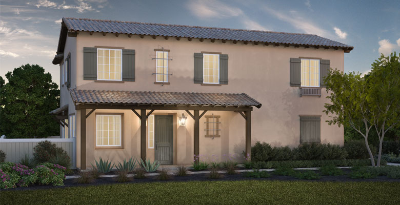 Plan 1B California Hacienda