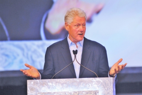 BILL CLINTON 42ND PRESIDENT OF THE UNITED STATES.